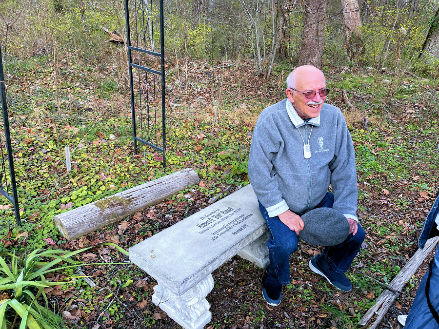 Dec. 12, 2020 - Bench Dedications for Bob Russell & Ron Byrd