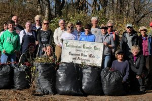 Thank You Volunteers 2019.12.07 - Invasive Plant Removal at TWRA